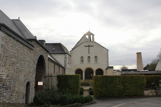 Trappist abbey that brews Rochefort beer (Lance loved it)