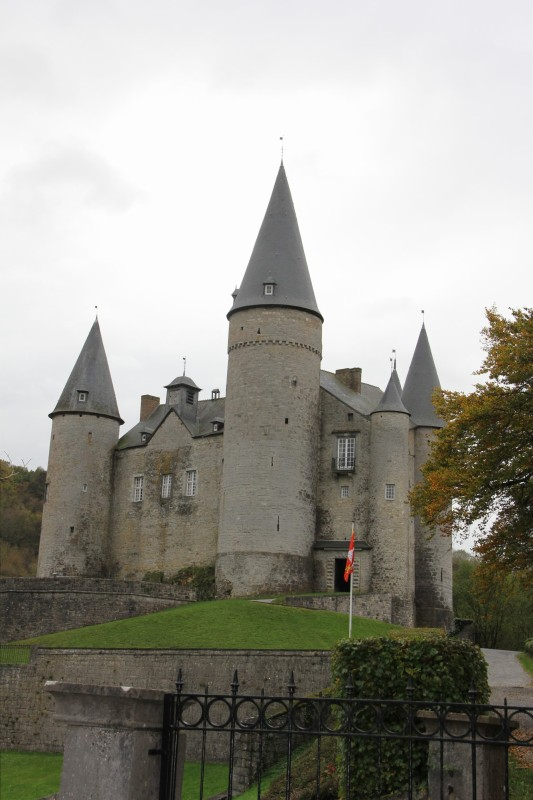 Chateau Veves just outside of Celles
